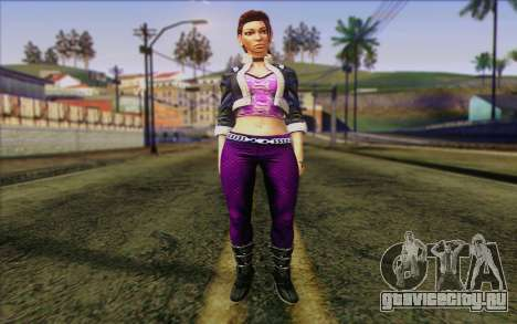 Shaundi from Saints Row The Third для GTA San Andreas