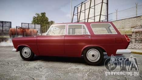 FSO Warszawa Ghia Kombi 1959 для GTA 4 вид слева