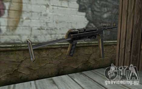 MP-40 from Day of Defeat для GTA San Andreas второй скриншот