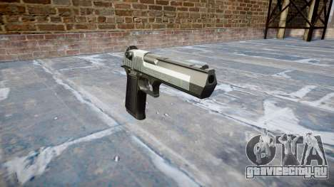 Пистолет IMI Desert Eagle Mk XIX Two-tone для GTA 4