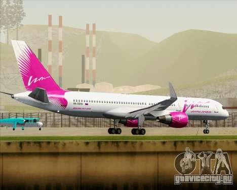 Boeing 757-230 VIM Airlines (ВИМ-Авиа) для GTA San Andreas вид снизу