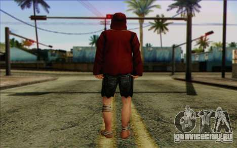 Член отряда IAЫ Skin 2 для GTA San Andreas второй скриншот