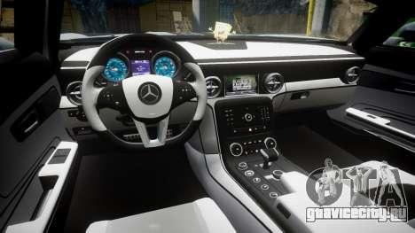 Mercedes-Benz SLS AMG GT-3 low для GTA 4 вид сзади