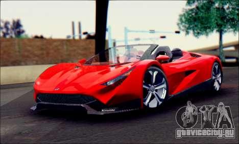 Specter Roadster 2013 (SA Plate) для GTA San Andreas