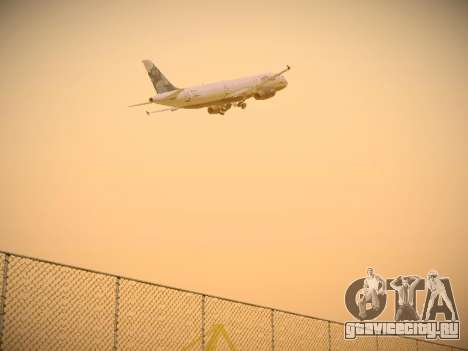 Airbus A321-232 jetBlue La vie en Blue для GTA San Andreas вид сзади
