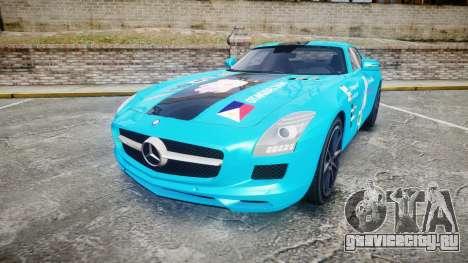 Mercedes-Benz SLS AMG v3.0 [EPM] Kotori Minami для GTA 4