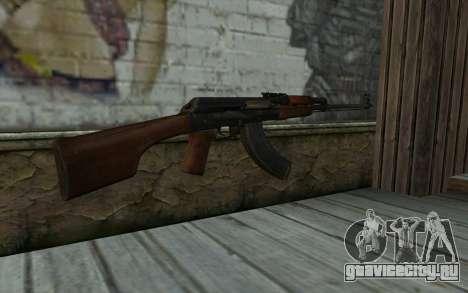 RPK 74 from Battlefield 4 для GTA San Andreas второй скриншот