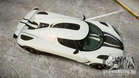 Koenigsegg Agera R 2013 [EPM] v1.5 для GTA 4 вид справа