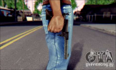 Silenced Pistol from Death to Spies 3 для GTA San Andreas третий скриншот