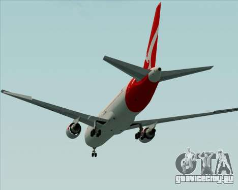 Boeing 767-300ER Qantas (New Colors) для GTA San Andreas вид сбоку