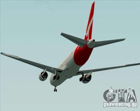 Boeing 767-300ER Qantas (New Colors) для GTA San Andreas вид сбоку