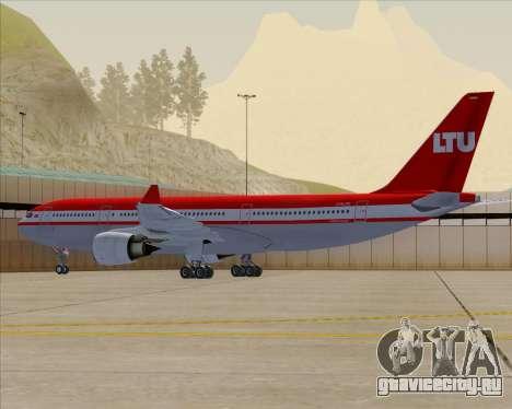 Airbus A330-200 LTU International для GTA San Andreas двигатель