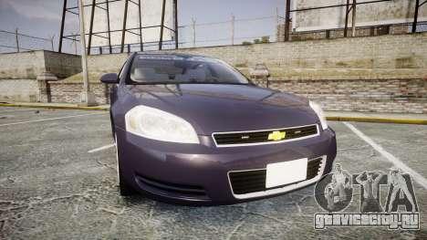 Chevrolet Impala 2010 Undercover [ELS] для GTA 4