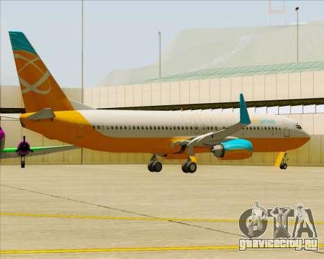 Boeing 737-800 Orbit Airlines для GTA San Andreas колёса