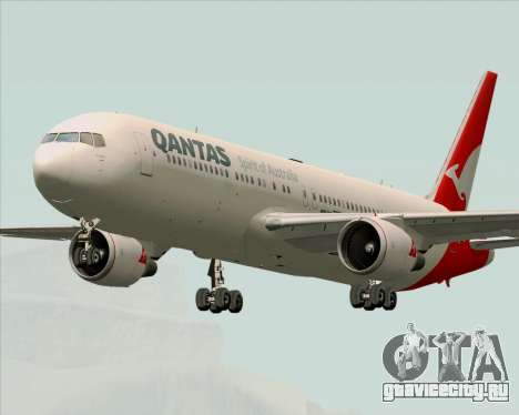 Boeing 767-300ER Qantas (New Colors) для GTA San Andreas