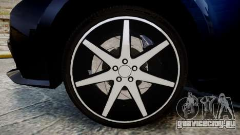 Lexus IS 350 F-Sport 2014 Rims2 для GTA 4 вид сзади