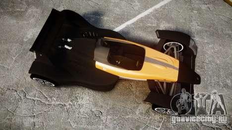 Caparo T1 для GTA 4 вид справа