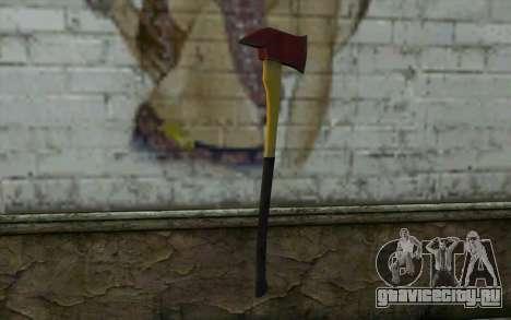 Пожарный топор (DayZ Standalone) v1 для GTA San Andreas второй скриншот