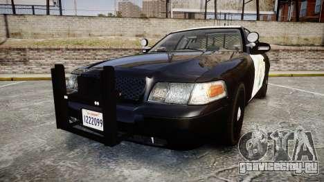 Ford Crown Victoria CHP CVPI Slicktop [ELS] для GTA 4