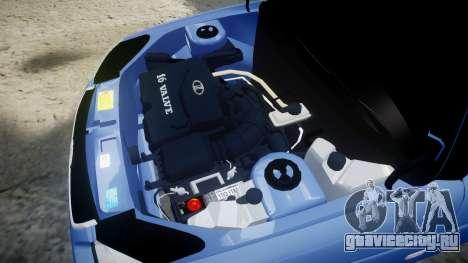 ВАЗ-2170 Приора сток для GTA 4 вид сбоку