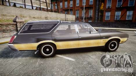 Oldsmobile Vista Cruiser 1972 Rims1 Tree1 для GTA 4 вид слева