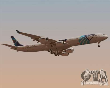 Airbus A340-600 EgyptAir для GTA San Andreas вид сбоку