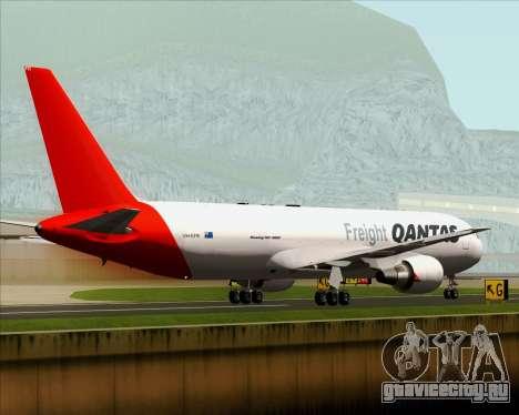 Boeing 767-300F Qantas Freight для GTA San Andreas вид сбоку
