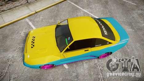 Opel Manta B GTE для GTA 4 вид справа
