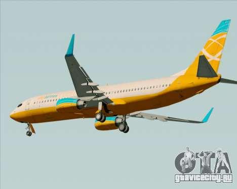Boeing 737-800 Orbit Airlines для GTA San Andreas вид сзади