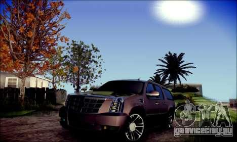 Cadillac Escalade Ninja для GTA San Andreas