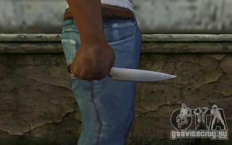 Кухонный Нож (DayZ Standalone) для GTA San Andreas третий скриншот