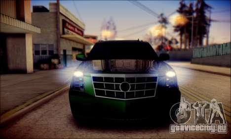 Cadillac Escalade Ninja для GTA San Andreas двигатель