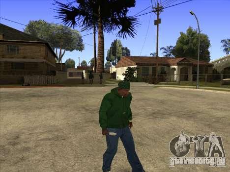 Cleo Walk Style для GTA San Andreas четвёртый скриншот