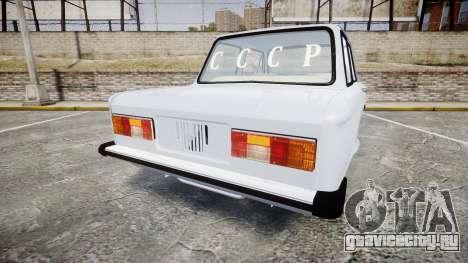 ЗАЗ-968 для GTA 4 вид сзади слева