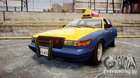 Vapid Stanier Taxi DCC для GTA 4