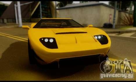 GTA 5 Bullet для GTA San Andreas вид сзади слева
