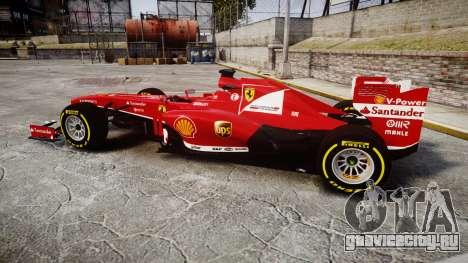 Ferrari F138 v2.0 [RIV] Alonso TSD для GTA 4 вид слева