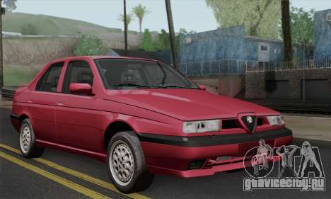 Alfa Romeo 155 Q4 1992 Stock для GTA San Andreas