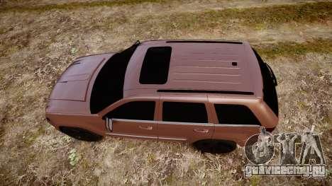 Jeep Grand Cherokee SRT8 rim lights для GTA 4 вид справа