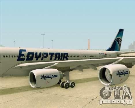 Airbus A340-600 EgyptAir для GTA San Andreas