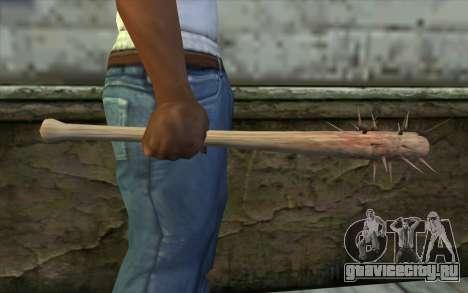 Nail Bat from Beta Version для GTA San Andreas третий скриншот