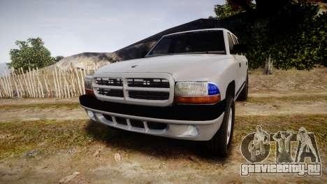 Dodge Durango 2000 Undercover [ELS] для GTA 4