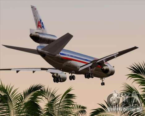 McDonnell Douglas DC-10-30 American Airlines для GTA San Andreas