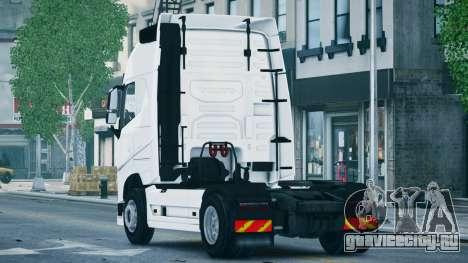 Volvo FH16 Truck для GTA 4 вид слева