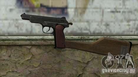 Автоматический Пистолет Стечкина для GTA San Andreas третий скриншот