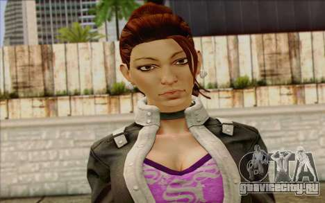 Shaundi from Saints Row The Third для GTA San Andreas третий скриншот