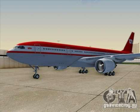 Airbus A330-200 LTU International для GTA San Andreas колёса