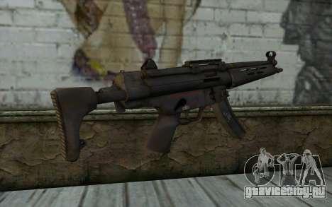 MP5 from FarCry 3 для GTA San Andreas второй скриншот