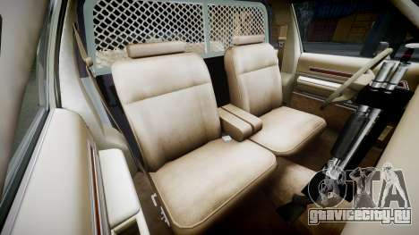 Ford LTD Crown Victoria 1987 Police CHP2 [ELS] для GTA 4 вид изнутри