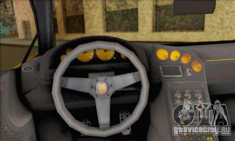 Pegassi Vacca (HQLM) для GTA San Andreas вид сзади слева